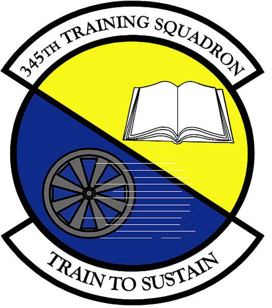 345th Training Squadron Logo